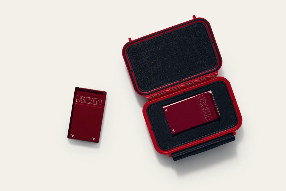 Red mini-mag